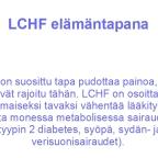 LCHF elämäntapana